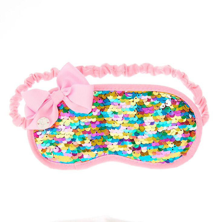 Jojo Siwa Rainbow Sequin Sleeping Mask Claire S Us
