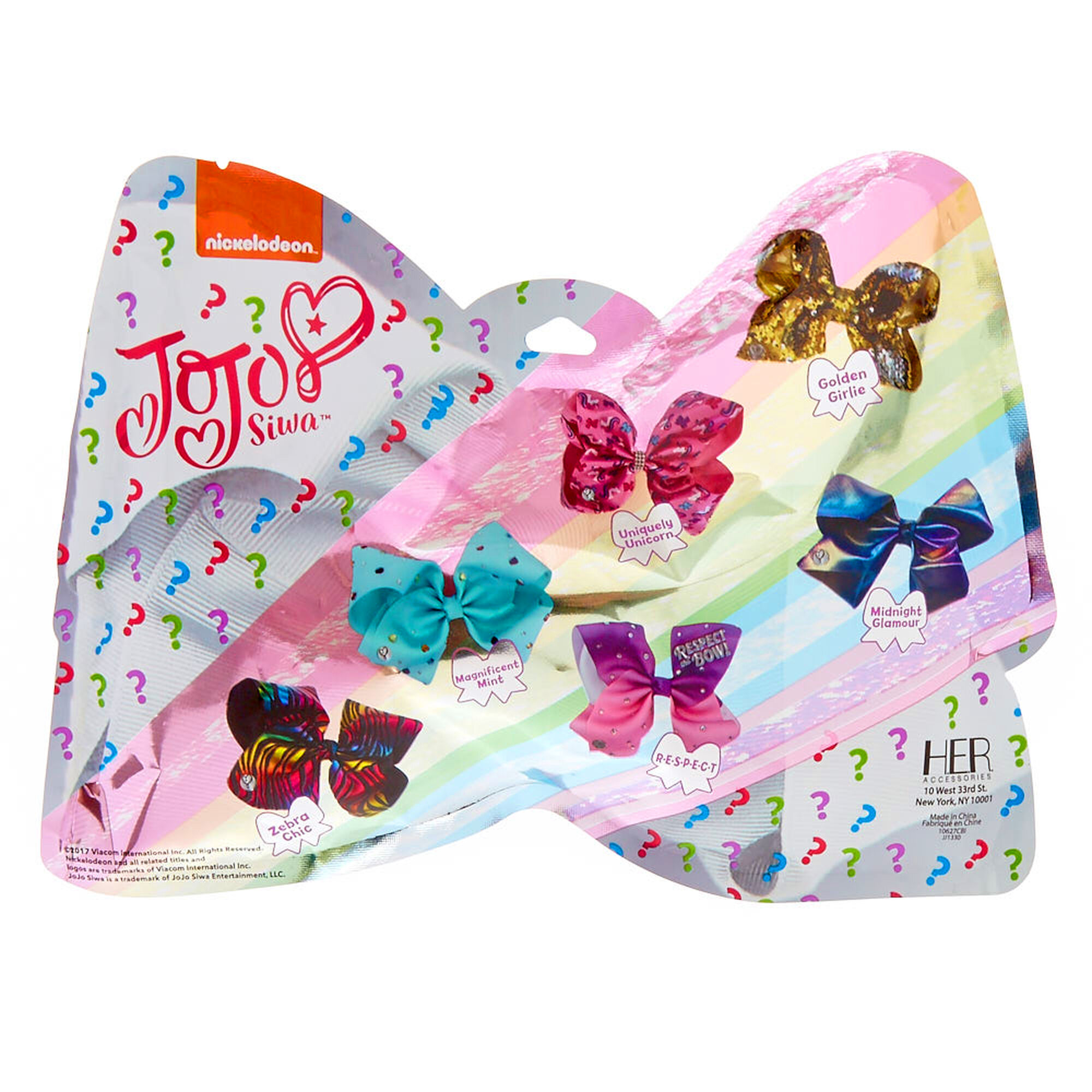 Jojo Siwa Bow Surprise Blind Pack Claire S Us