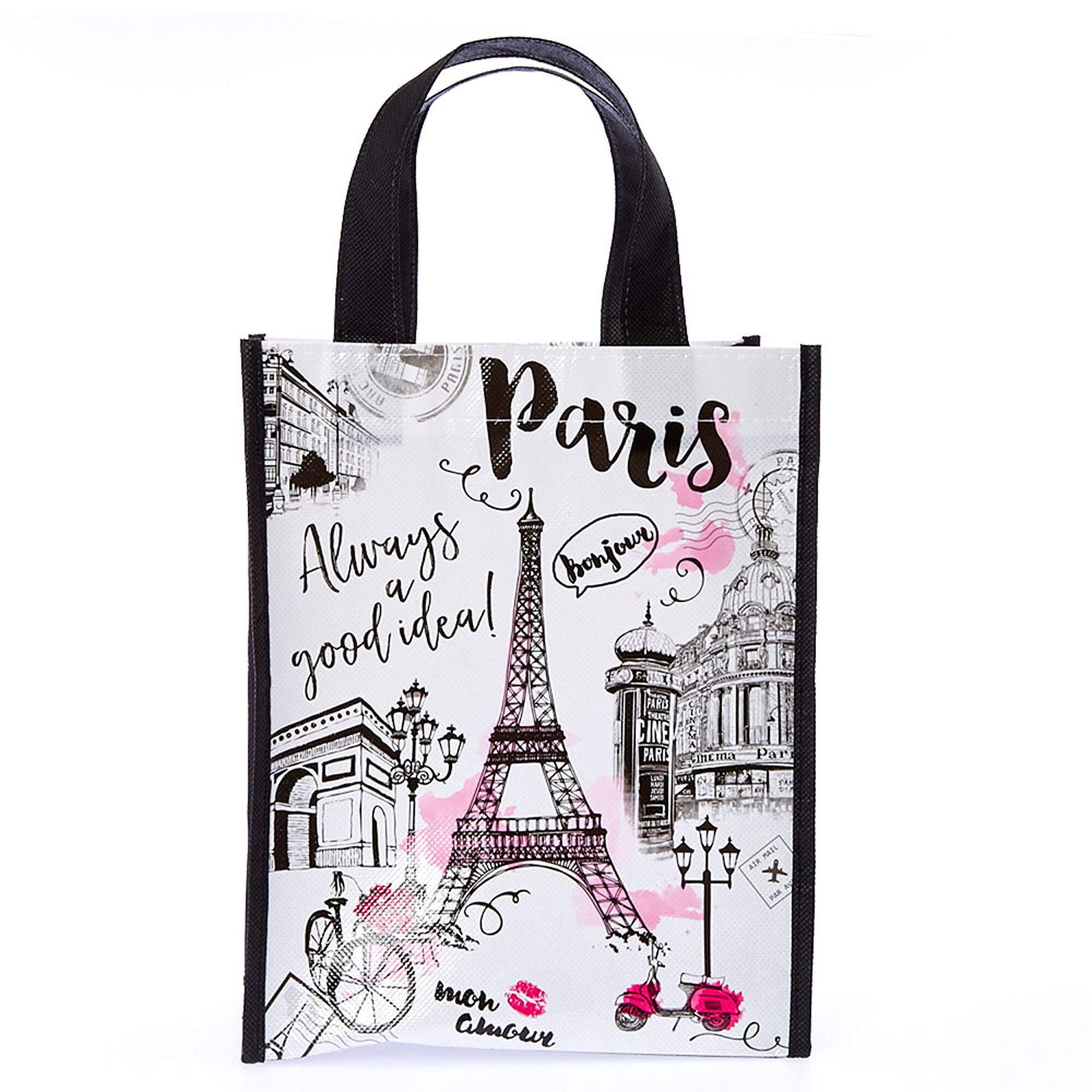 Paris Reusable Tote Bag