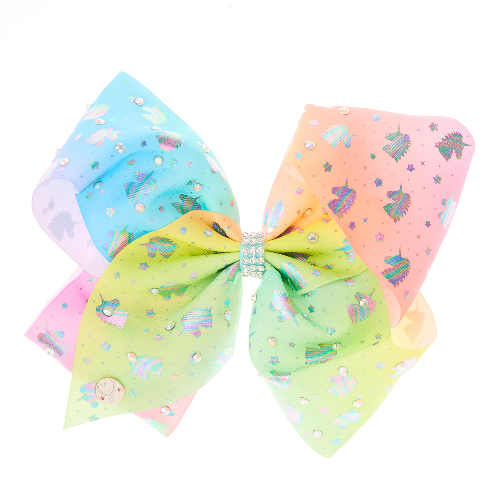JoJo Siwa Pastel Ombre Unicorn Hair Bow | Claire's
