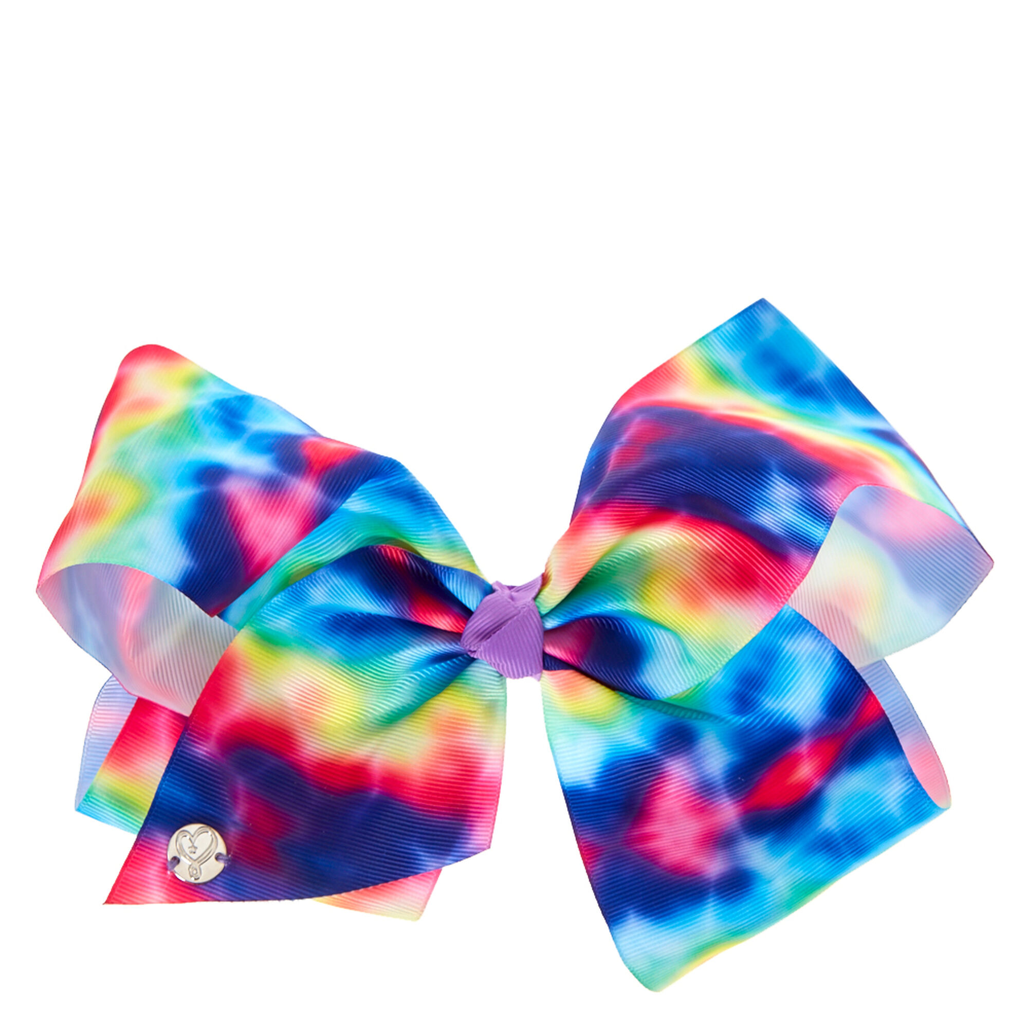 JoJo Siwa Large Rainbow Tie-Dye Signature Hair Bow | Claire\'s US