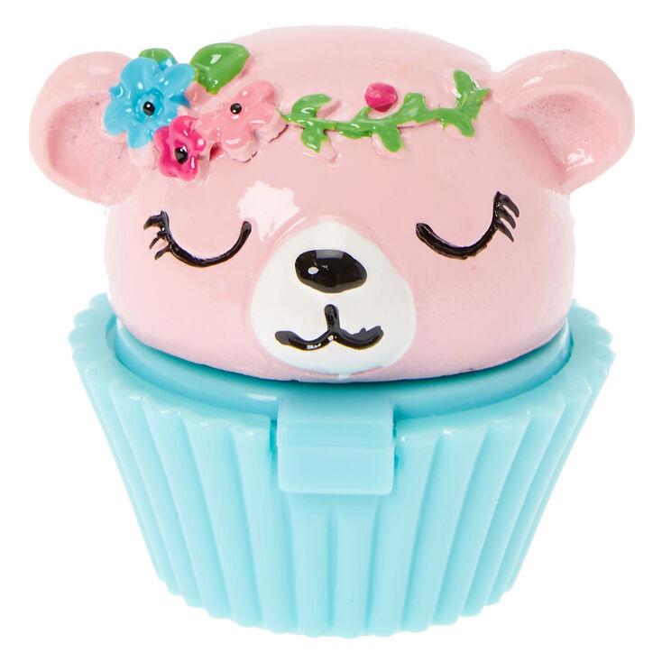 gloss t te d ours avec couronne de fleurs pour enfants. Black Bedroom Furniture Sets. Home Design Ideas
