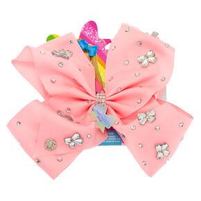JoJo Siwa Bow Gem-tastic Pink Hair Bow,