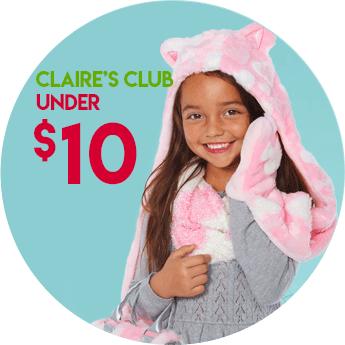 SHOP Shop Claire's Club $10