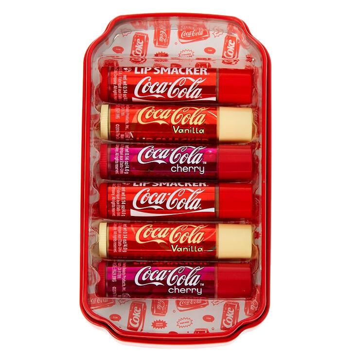 Coffret de baumes à lèvres Lip Smacker Coca-Cola™ avec boîte en métal,