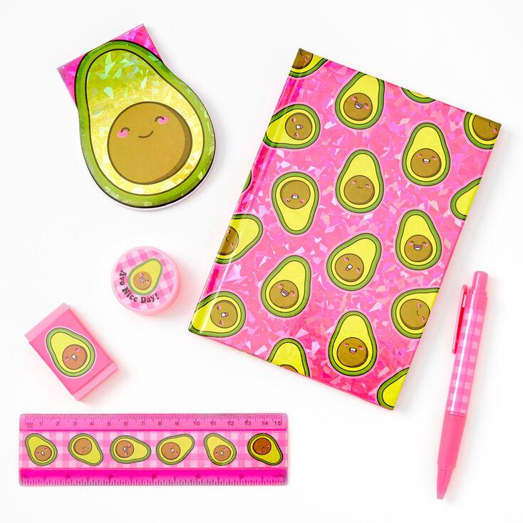 Smiling Avocado Stationery Set,