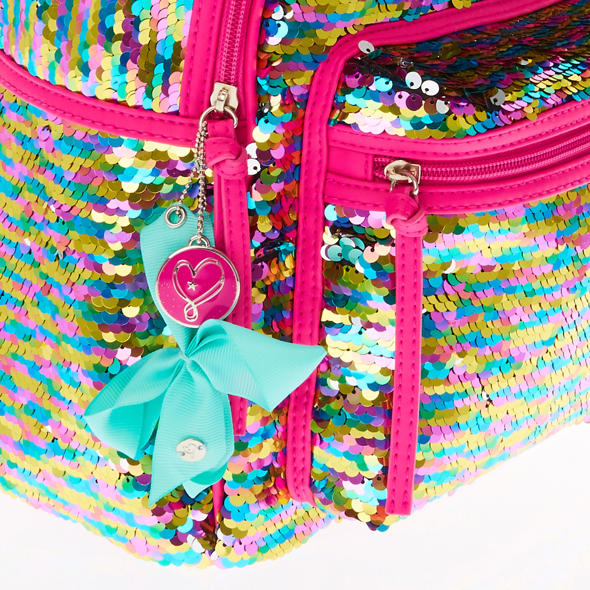 77acb2693 JoJo Siwa™ Reversible Sequin Backpack | Claire's US