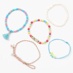 Butterfly Love Bracelet Set - 5 Pack,