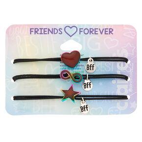 3cb81df3f Mood Symbol Stretch Friendship Bracelets - 3 Pack