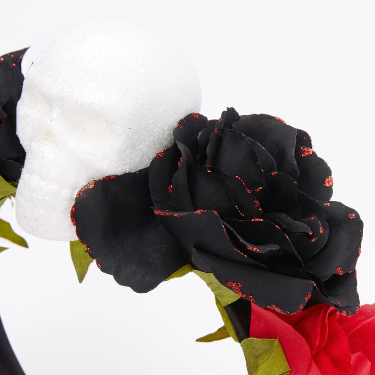Day of the Dead Floral Headband,