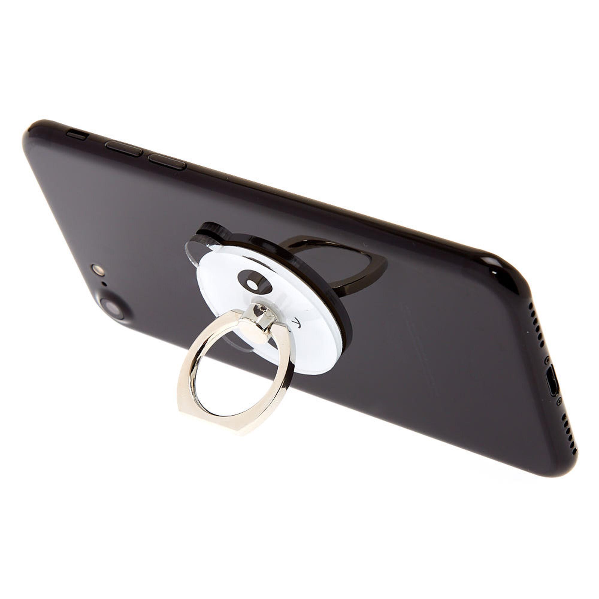 online retailer fc0bb fa8a5 Panda Bear Phone Case Ring Stand