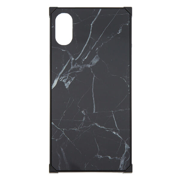 Claire's - marble square phone case - 1