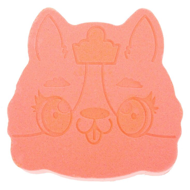 Queenie the Corgi Bath Bomb - Peach,