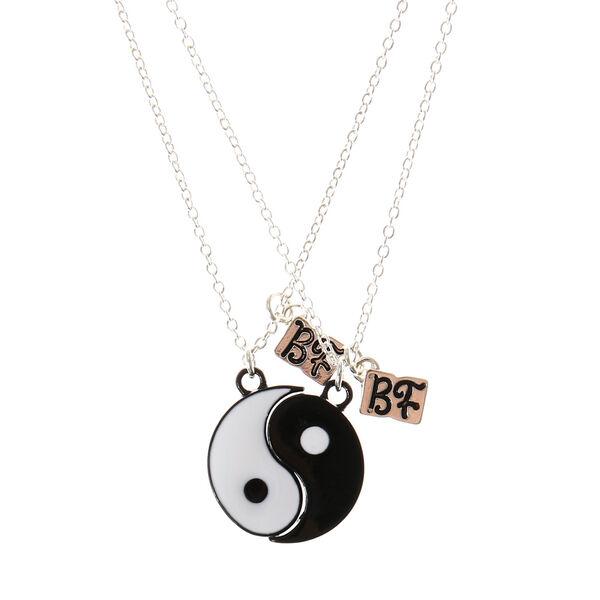 Claire's - best friends yin & yang necklaces - 1