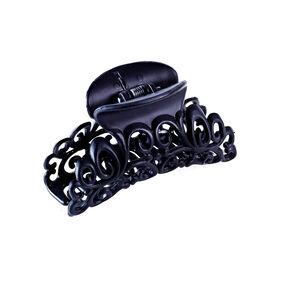 Filigree Hair Claw - Black,