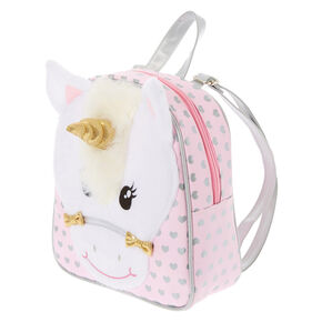 8acf8d92357 Claire's Club Ariella the Unicorn Backpack - Pink