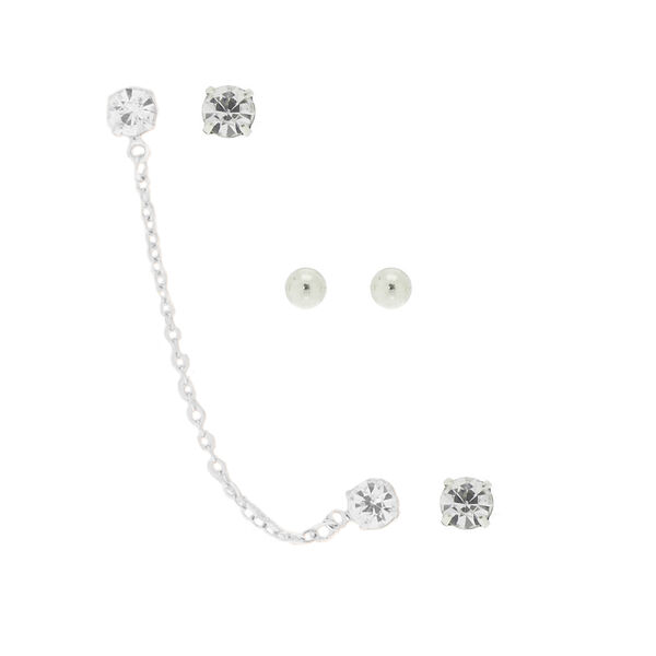 Claire's - ear swag earrings - 1