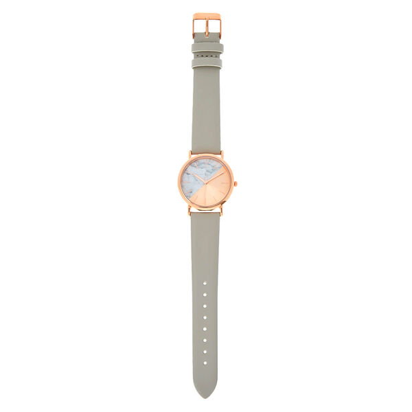 Claire's - rose & marble watch - 2