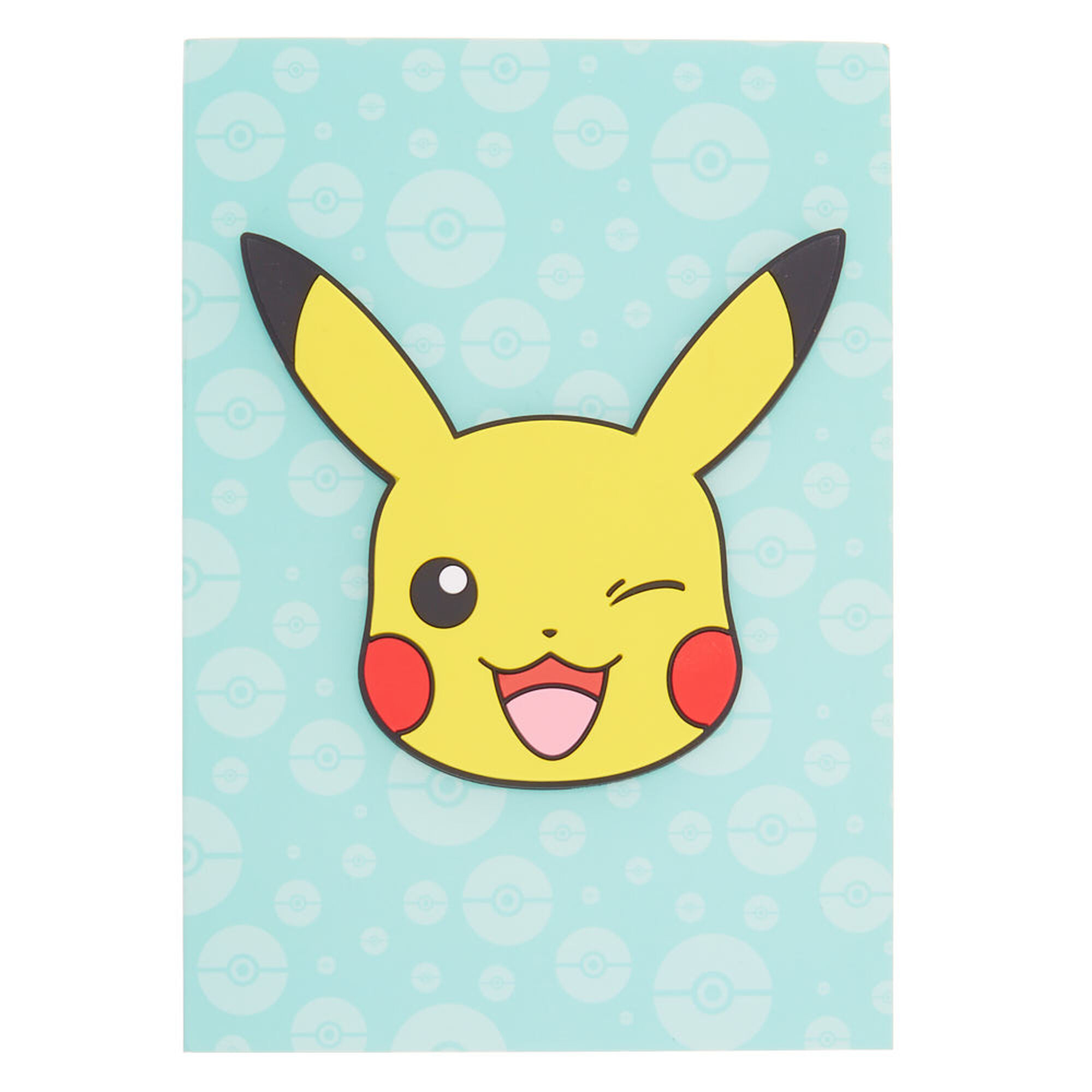 Pokemon Pikachu Notebook Turquoise Claire S