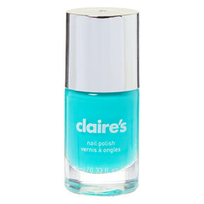 Solid Nail Polish - Aqua Blue,