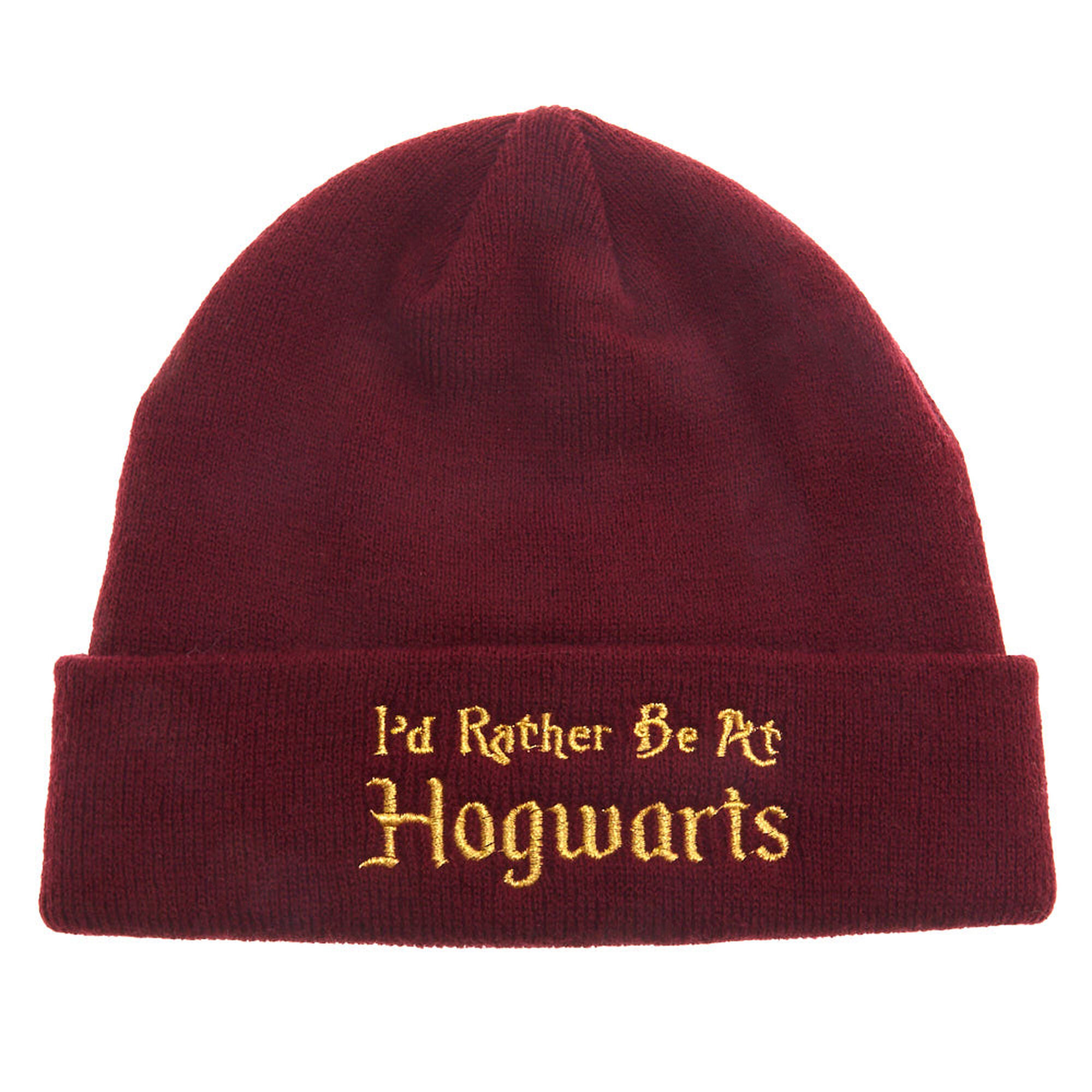 Harry Potter trade  I  39 d Rather Be At Hogwarts Beanie ... 31c3f7b570a