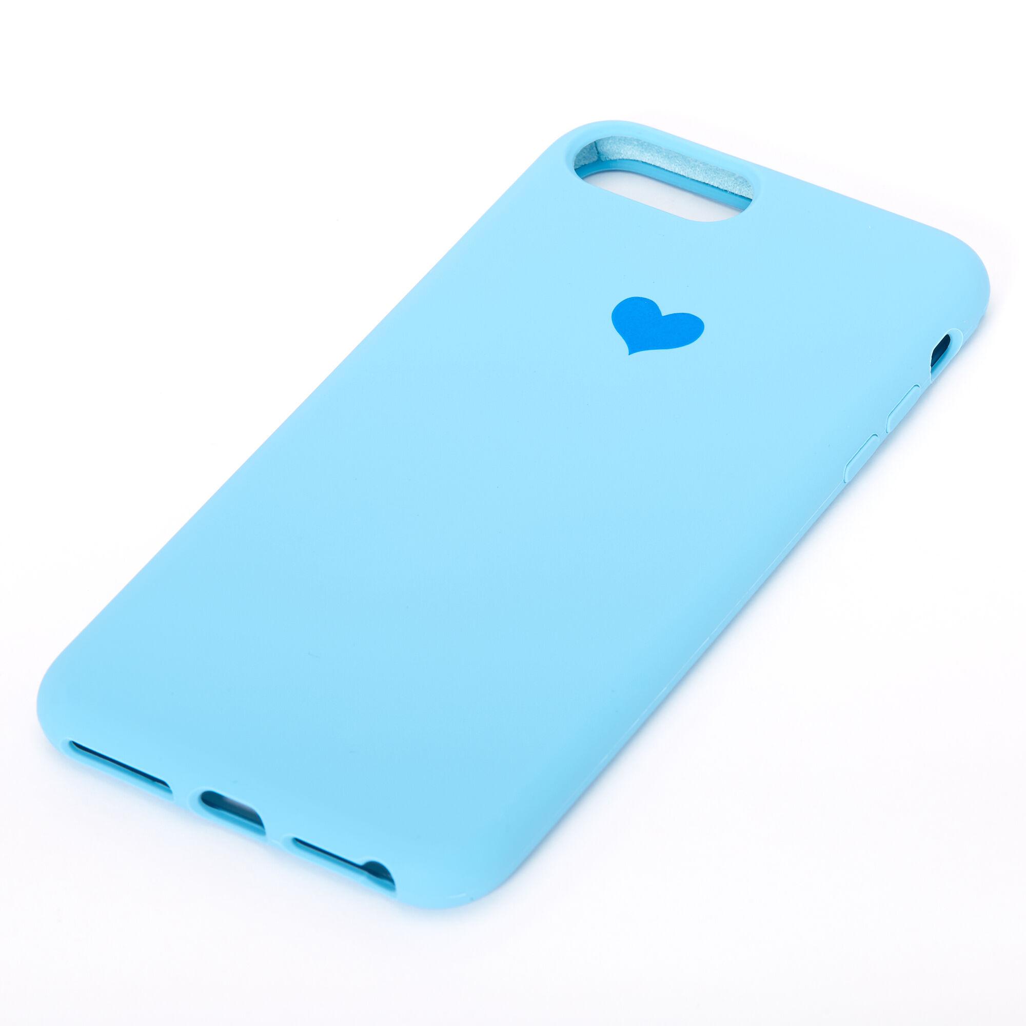 Cobalt Heart Phone Case - Fits iPhone 6/7/8 Plus
