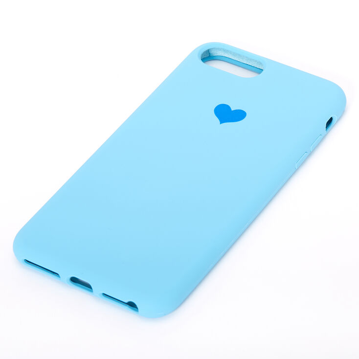Cobalt Heart Phone Case - Fits iPhone 6/7/8 Plus,