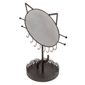 Cat Jewellery Holder - Black,