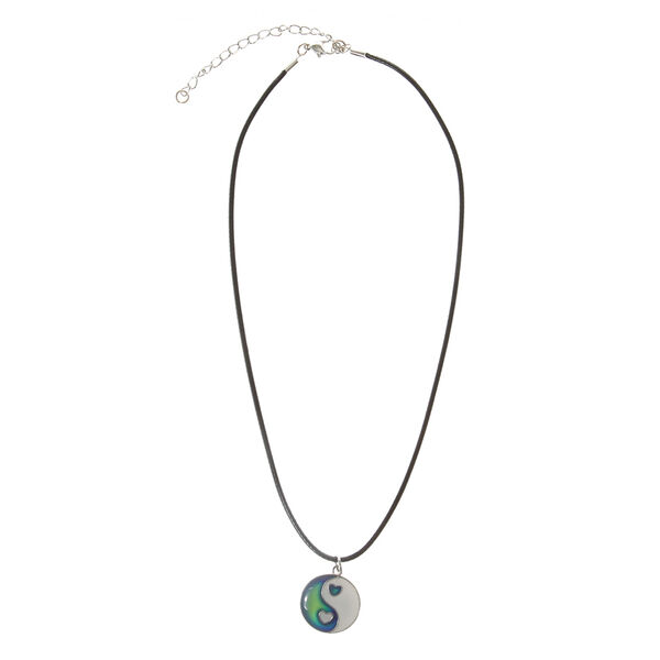 Claire's - heart yin yang necklace - 2