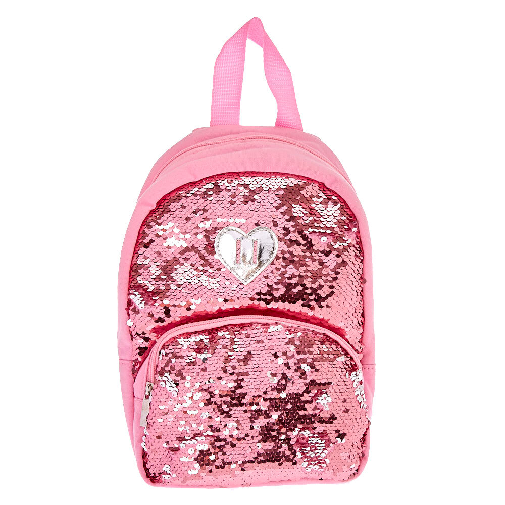 Claire's Club Reversible Sequins Backpack