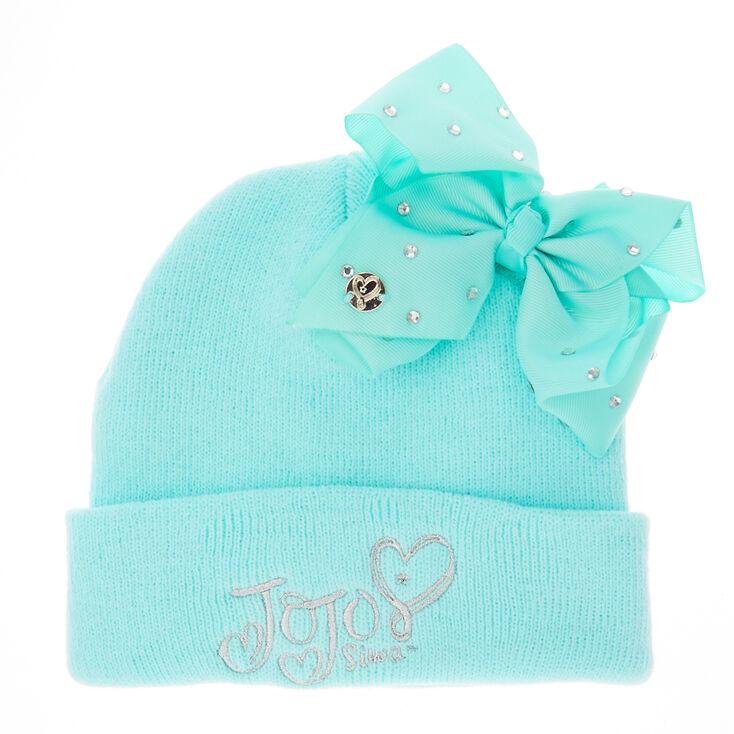 JoJo Siwa Mint Bow Beanie Hat  54a1b5acc97