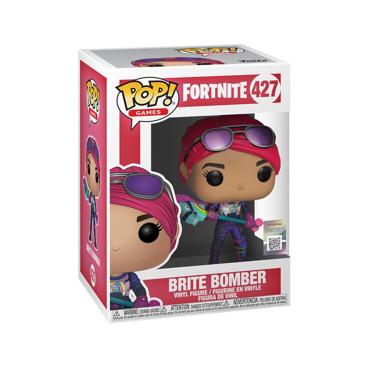 Fortnite Brite Bomber Vinyl Figure Pink