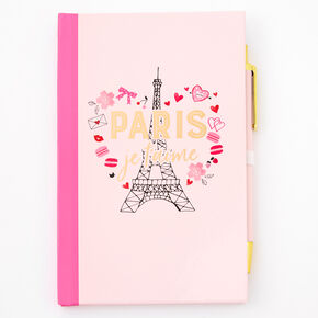 Journal intime Paris je t'aime - Rose,