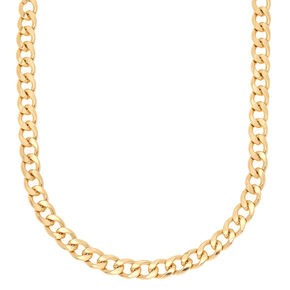 Gold Heavy Chain Necklace,