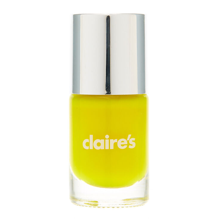 Neon Yellow Nail Polish | Claire\'s