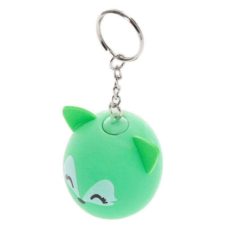 Trixie the Fox Stress Ball Keychain - Green,