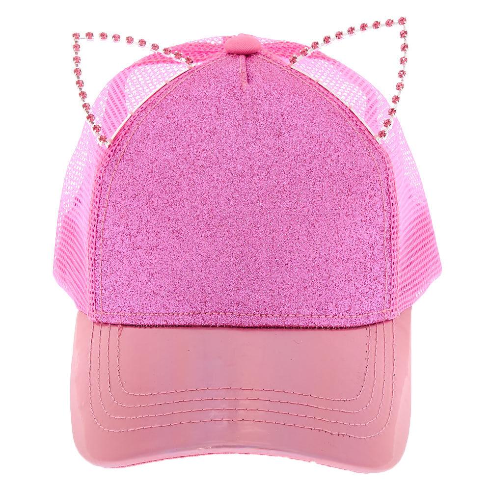 LOL Surprise doll accessories pink glitter bear ear hat