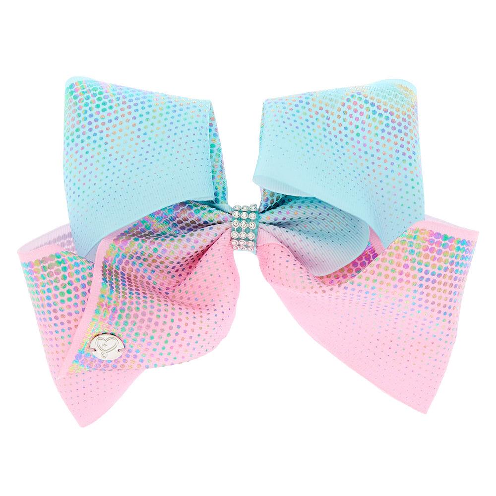 Reasonable New! Bows Custom Made Boutique Bows Brown Blue Polkadot 2
