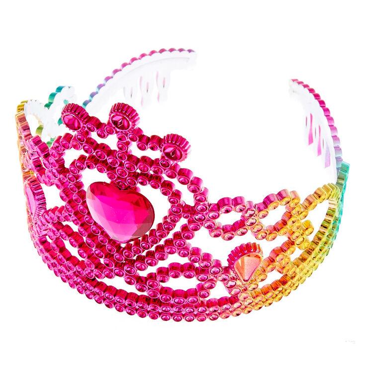 Claire's Club Rainbow Princess Tiara,