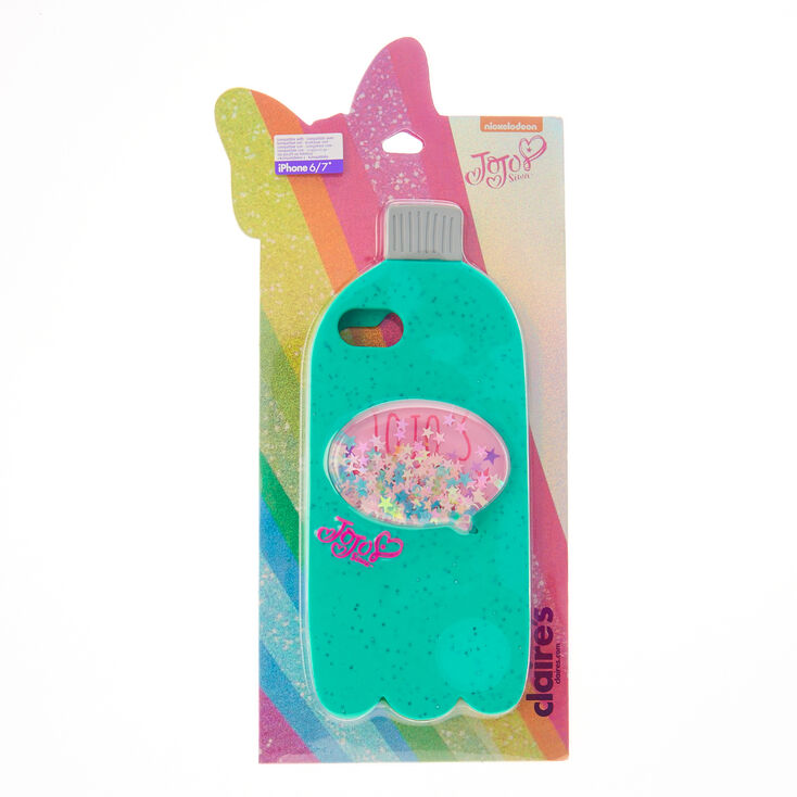 JoJo's Juice Mint Green Glitter Phone Case - Fits iPhone 6/7/8/SE,