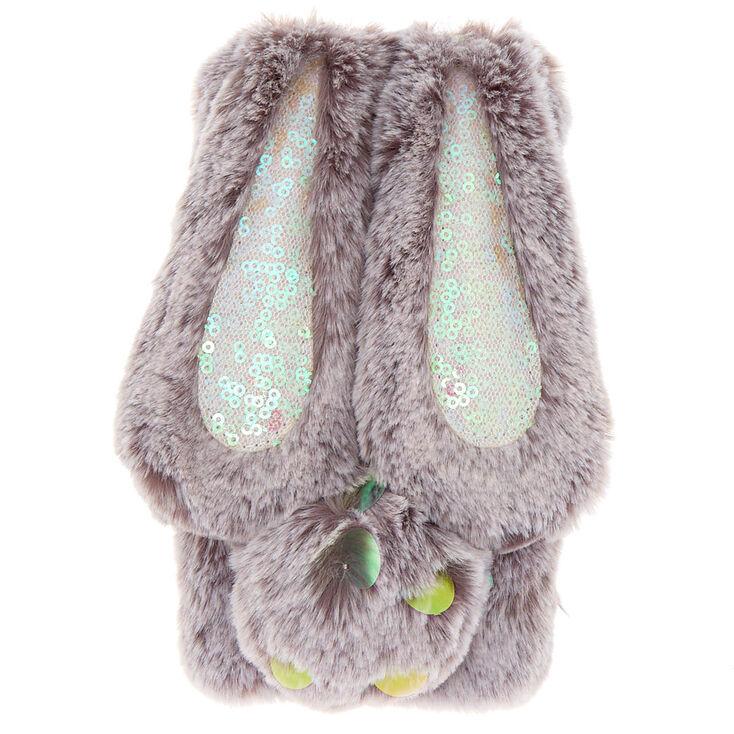 Faux Fur Bunny Phone Case - Fits iPhone 5/5S/5SE,