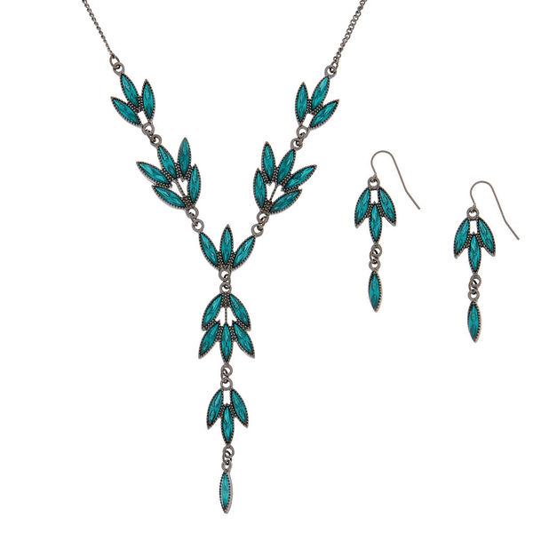 Claire's - hematite vine jewelry set - 1