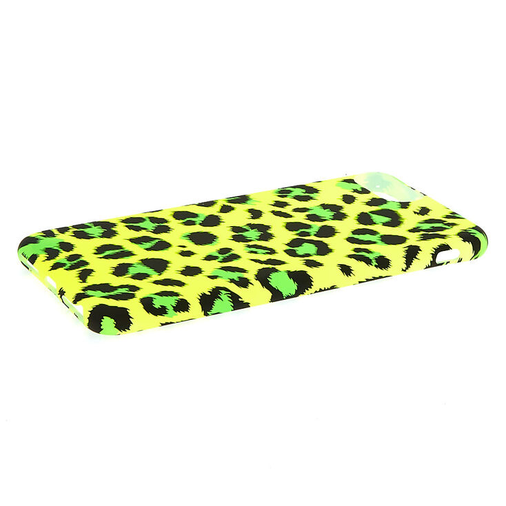 Neon Leopard Phone Case - Fits iPhone 6/7/8 Plus,