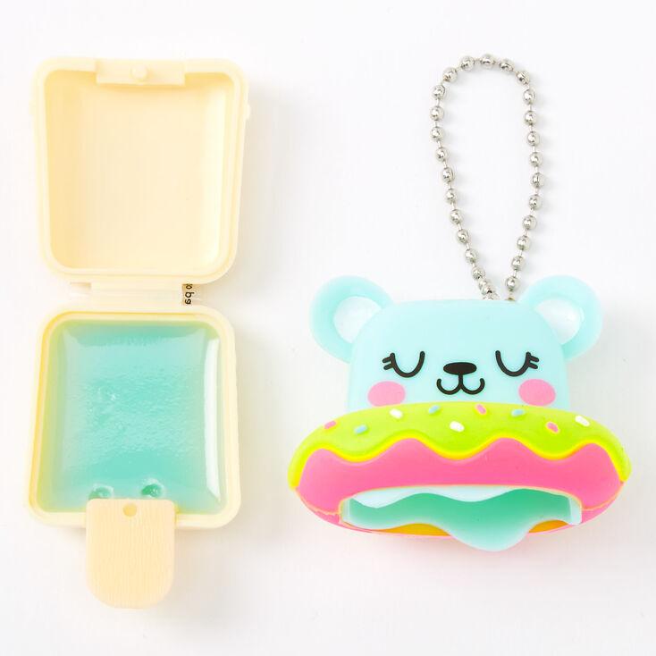 Pucker Pops Floaty Bear Lip Gloss - Coconut,