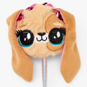 Puppy Plush Pen - Brown,
