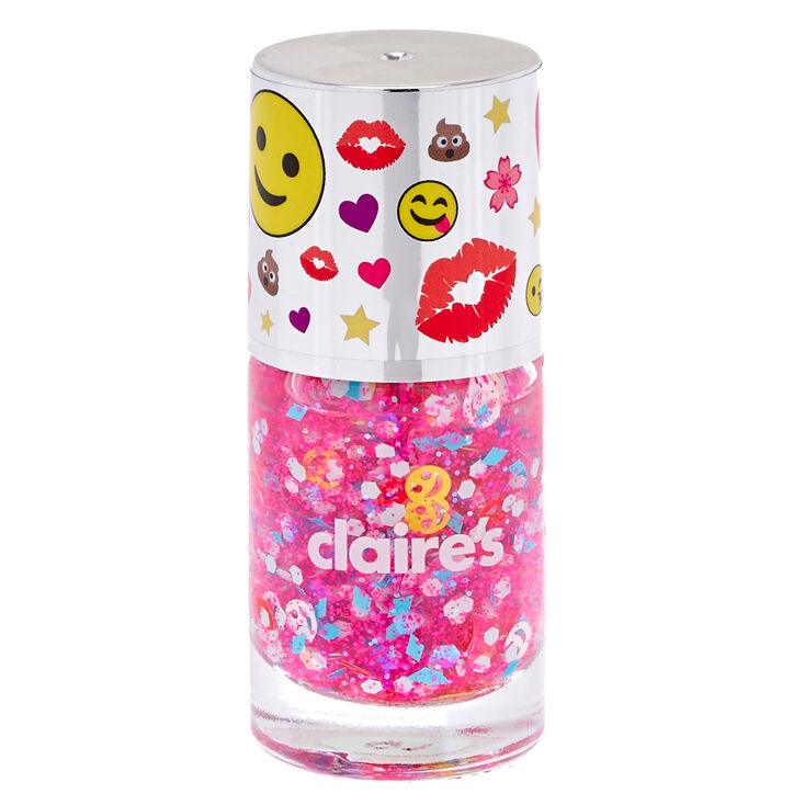 #BFF Nail Polish - Fun Pink,