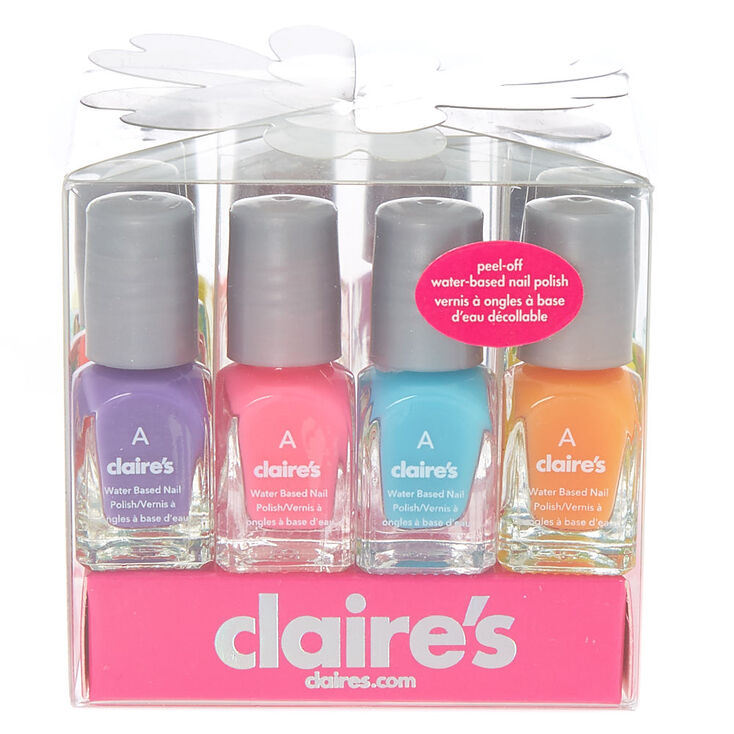 Neon Mini Water Based Nail Polish Set - 12 Pack | Claire\'s