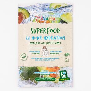 7th Heaven Superfood Avocado Oil Sheet Mask,
