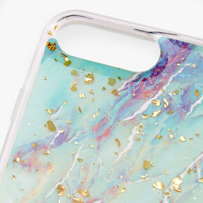 Gold Flecked Pastel Marble Phone Case - Fits iPhone 6/7/8 Plus,