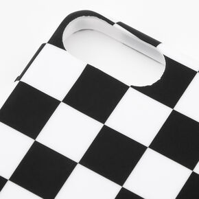 Black & White Checkered Phone Case - Fits iPhone 6/7/8 Plus,